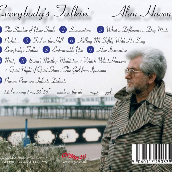 Alan Haven – Everybody's Talkin' (Inlay)