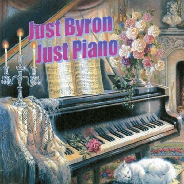 Byron Jones – Just Byron, Just Piano