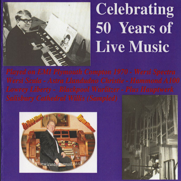 Byron Jones – Celebrating 50 Years of Live Music