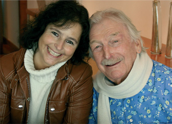 Claudia Hirschfeld and James Last
