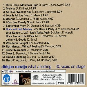 DirkJan Ranzijn - What A Feeling (Tracks)