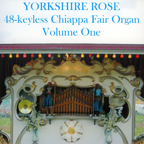 Fairground Organ – Yorkshire Rose v1