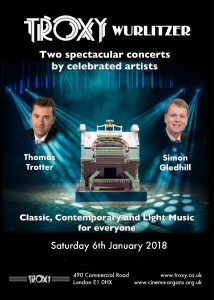 Troxy Wurlitzer Concert - January 2018