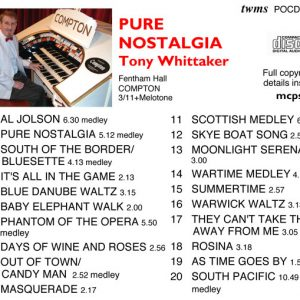 Tony Whittaker - Pure Nostalgia (Inlay)