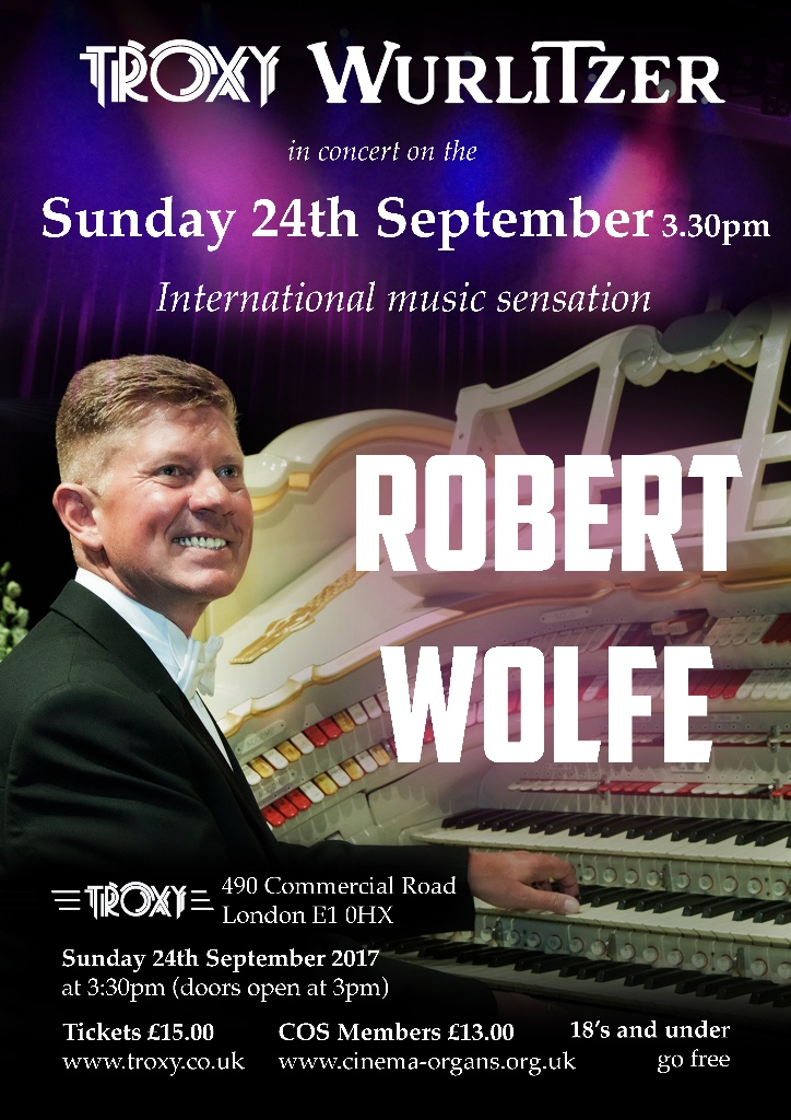 Robert Wolfe in Concert 2017