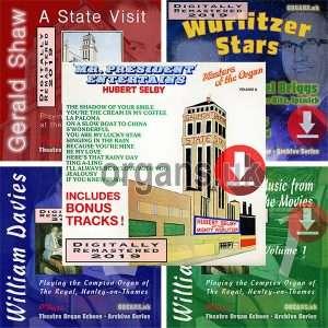 Five Theatre Organ Downloads Offer