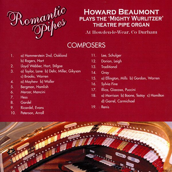 Howard Beaumont - Romantic Pipes (Composers)