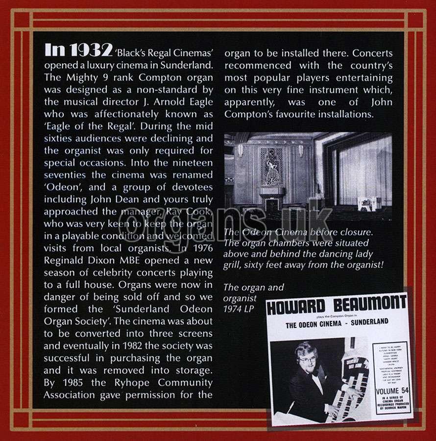 Howard Beaumont - Sunderland Revisited (2019)