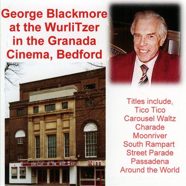 George Blackmore at the Granada Cinema, Bedford