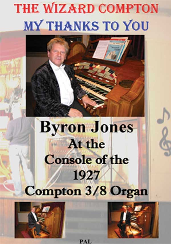 Byron Jones - My Thanks To You (DVD)