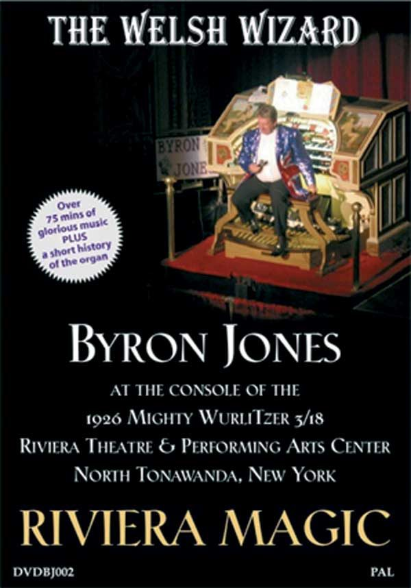 Byron Jones - Riviera Magic (DVD)