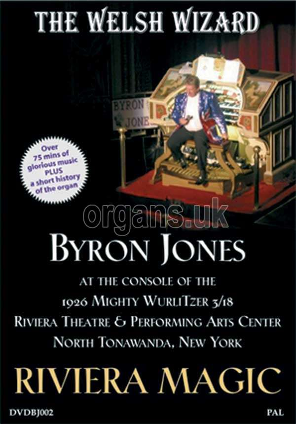 Byron Jones - Riviera Magic (DVD)