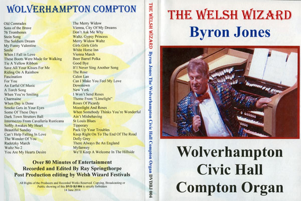 Byron Jones At The Wolverhampton Civic Hall Compton (Full)