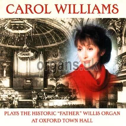 Carol Williams - At Oxford Town Hall