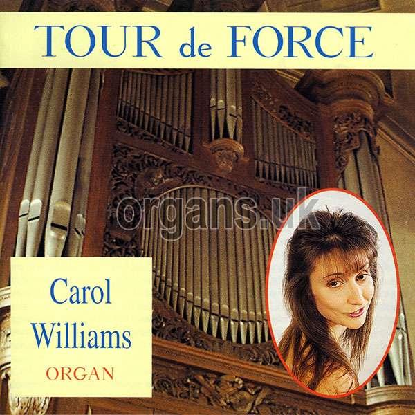 Carol Williams - Tour de Force