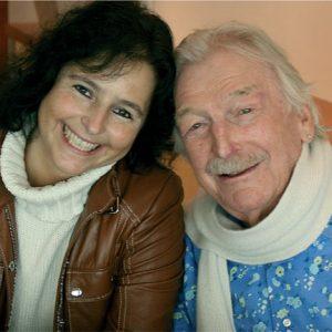 Claudia Hirschfeld and James Last