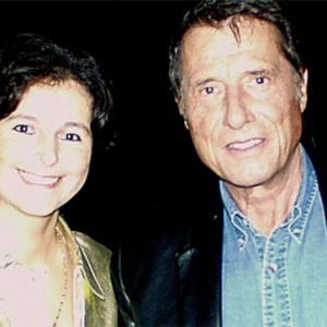 Claudia Hirschfeld and Udo Jurgens
