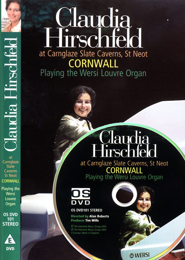 Claudia Hirschfeld - At Carnglaze Slate Caverns (DVD)