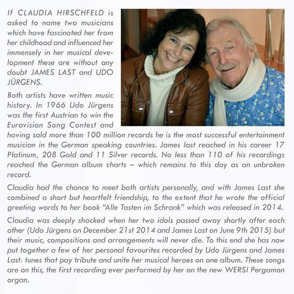 Claudia Hirschfeld - My Heroes / Meine Helden Text