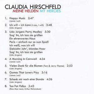 Claudia Hirschfeld – My Heroes / Meine Helden Tracks-1