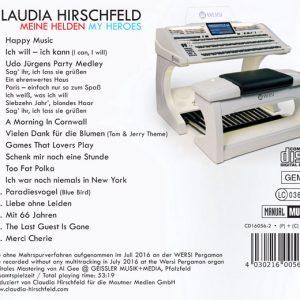 Claudia Hirschfeld – My Heroes / Meine Helden Back