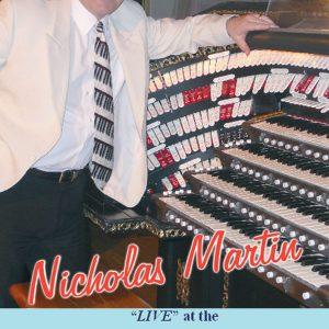 Nicholas Martin - Live At The Kirk of Dunedin (DVD)