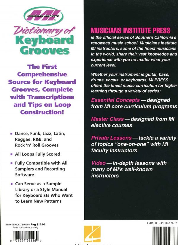 Dictionary of Keyboard Grooves