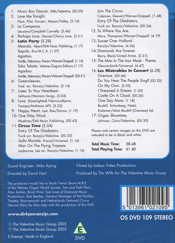 DirkJan Ranzijn - Live On Tour in Bournemouth (DVD)