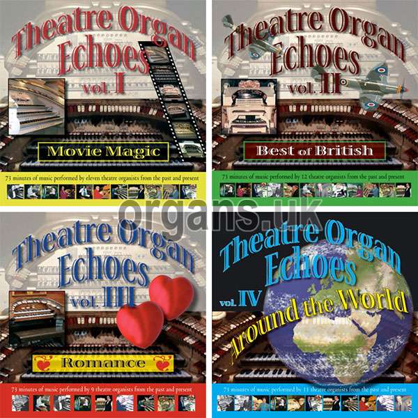 Theatre Organ Echoes - Volumes 1-4
