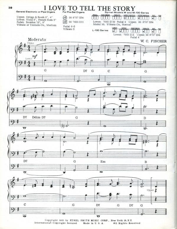 Ethel Smith - Hymn Registrations Book