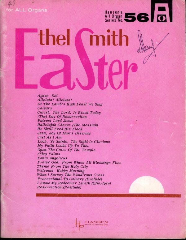 Ethel Smith Easter Book