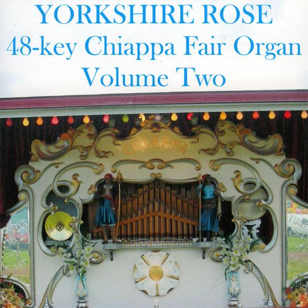 Fairground Organ - Yorkshire Rose v2