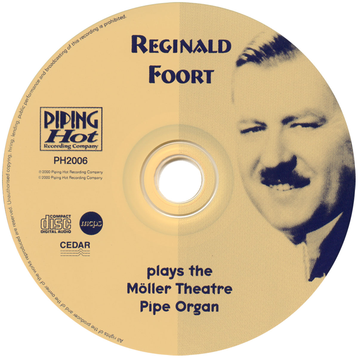 Reginald Foort - Plays the Moller Theatre Pipe Organ (Disc)