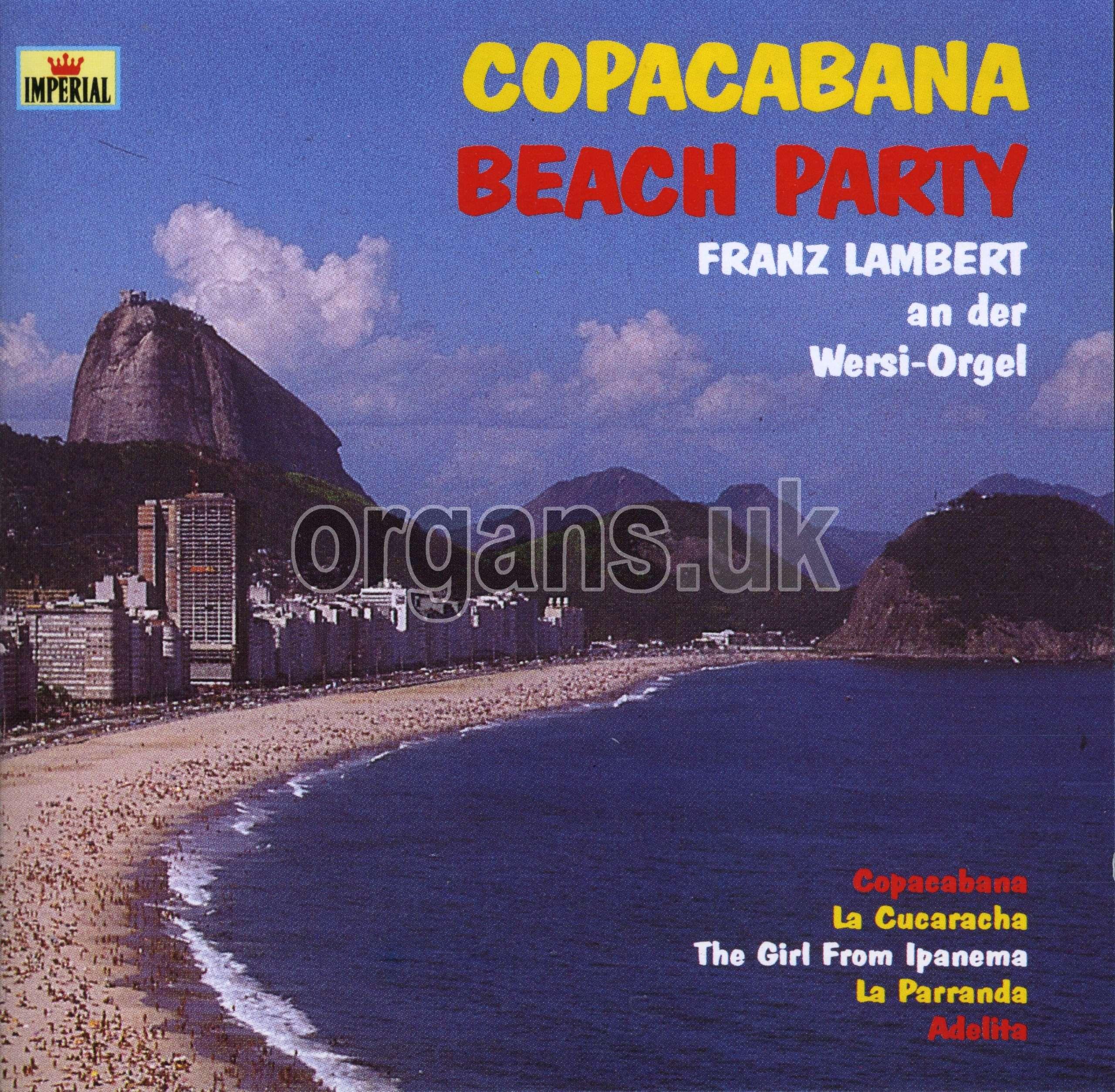 Franz Lambert - Copacabana Beach Party
