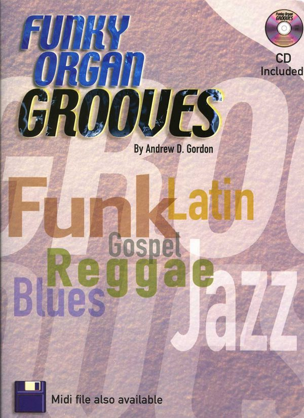 Funky Organ Grooves (Book and CD)