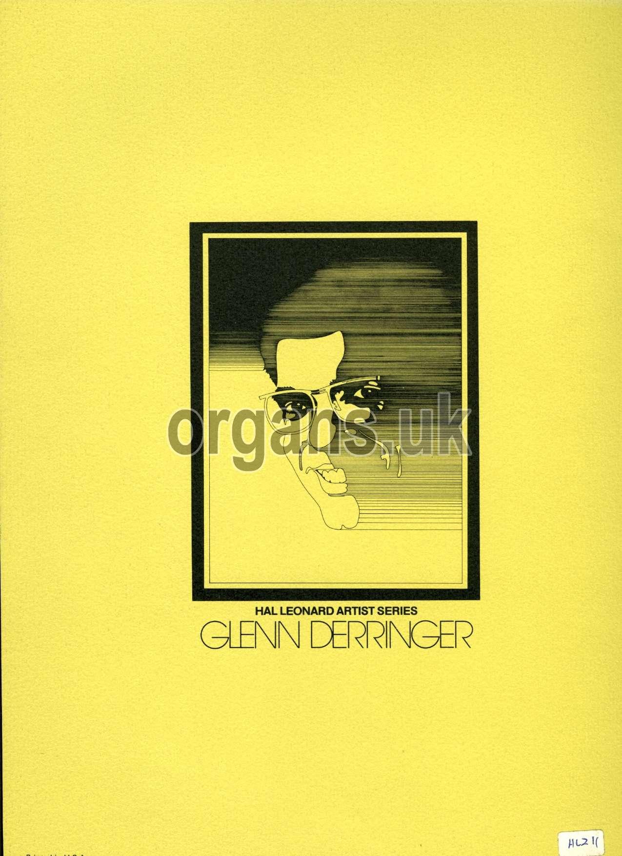 Glenn Derringer - Volume One Book