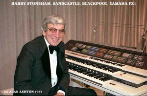 Harry Stoneham at the Yamaha FX-1 in 1987. Photograph Copyright Alan Ashton