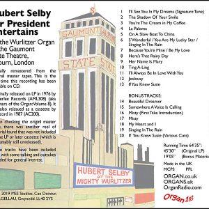 Hubert Selby - Mr President Entertains