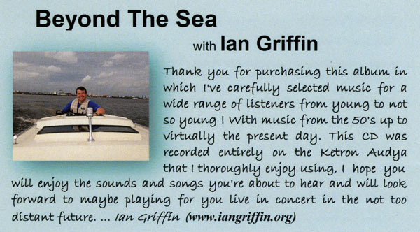 Ian Griffin - Beyond The Sea (Text)
