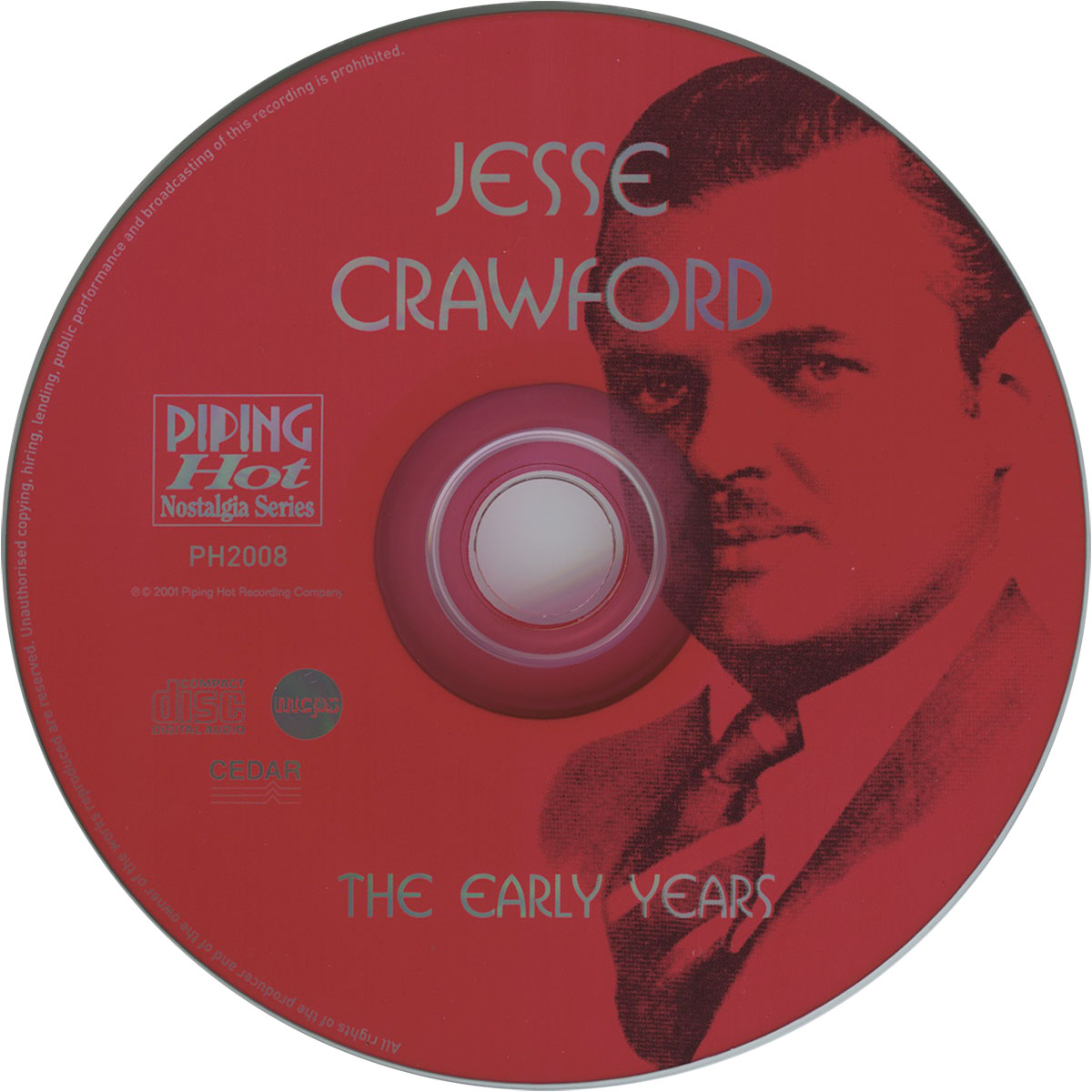 Jesse Crawford - The Early Years (Disc)
