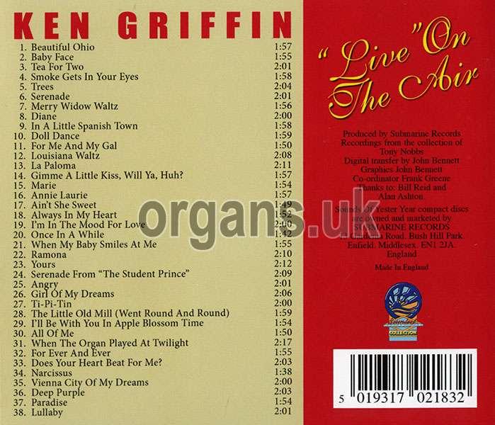 Ken Griffin - Radio Gems - Live on the Air (2020)
