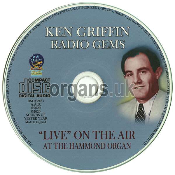 Ken Griffin - Radio Gems - Live on the Air (2020)
