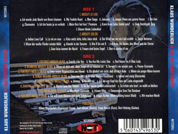 Klaus Wunderlich - 48 Unforgettable Melodies Back