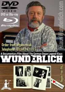 Klaus Wunderlich Documentary DVD & Blu-ray 600