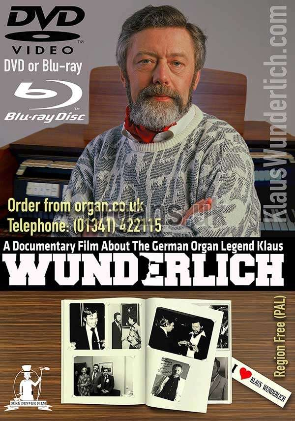 Klaus Wunderlich Documentary DVD & Blu-ray 600