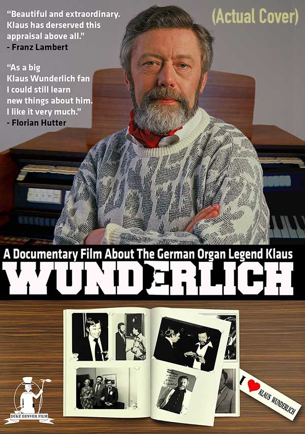 Klaus Wunderlich Documentary DVD & Blu-ray 600o