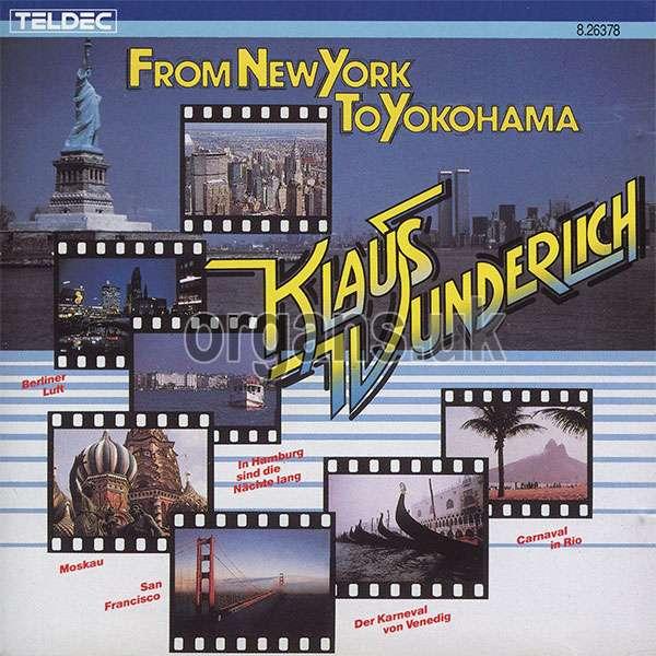 Klaus Wunderlich - From New York To Yokohama