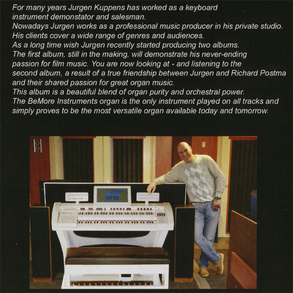 Jurgen Kuppens - Bemore Melange (Bemore Genesis Organ)