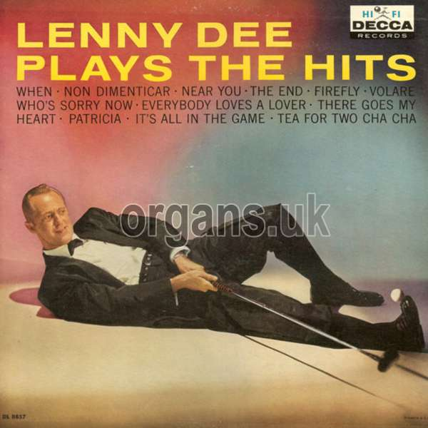Lenny Dee - Plays The Hits