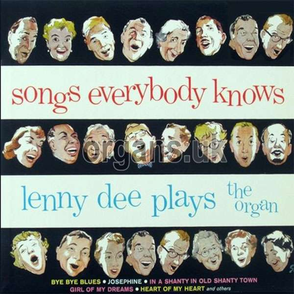 Lenny Dee - Songs Everybody Knows